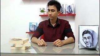 Anak Muda Kantongi Rp 60 Juta/Bulan Berkat 'Lukisan Kertas'