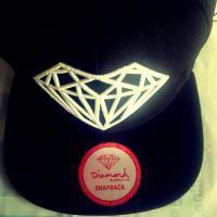 SNAPBACK DIAMOND BLACK