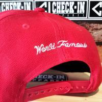 TOPI SNAPBACK SUPREME RED