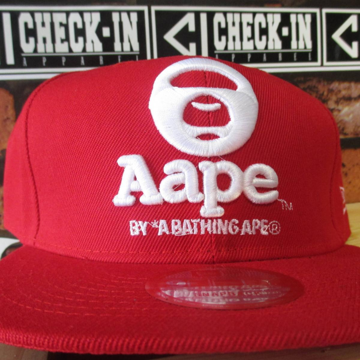 SNAPBACK IMPORT NEW ERA Aape RED